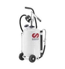 Dispensador de aceite manual con contador y depósito autoportante (25 litros)